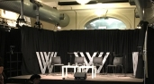 The stage for three days of conversation at The Wheeler Centre. Photo by Ben Rodin, All Rights Reserved.